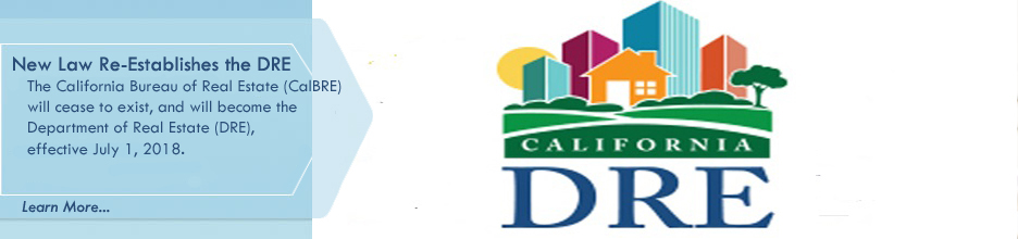 California Senate Bill 173 Re-Establishes DRE